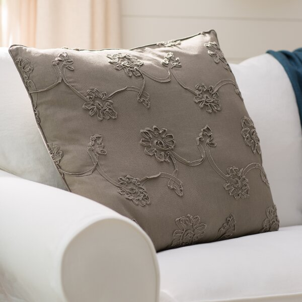 Lemelle 100% Cotton Throw Pillow by Lark Manor